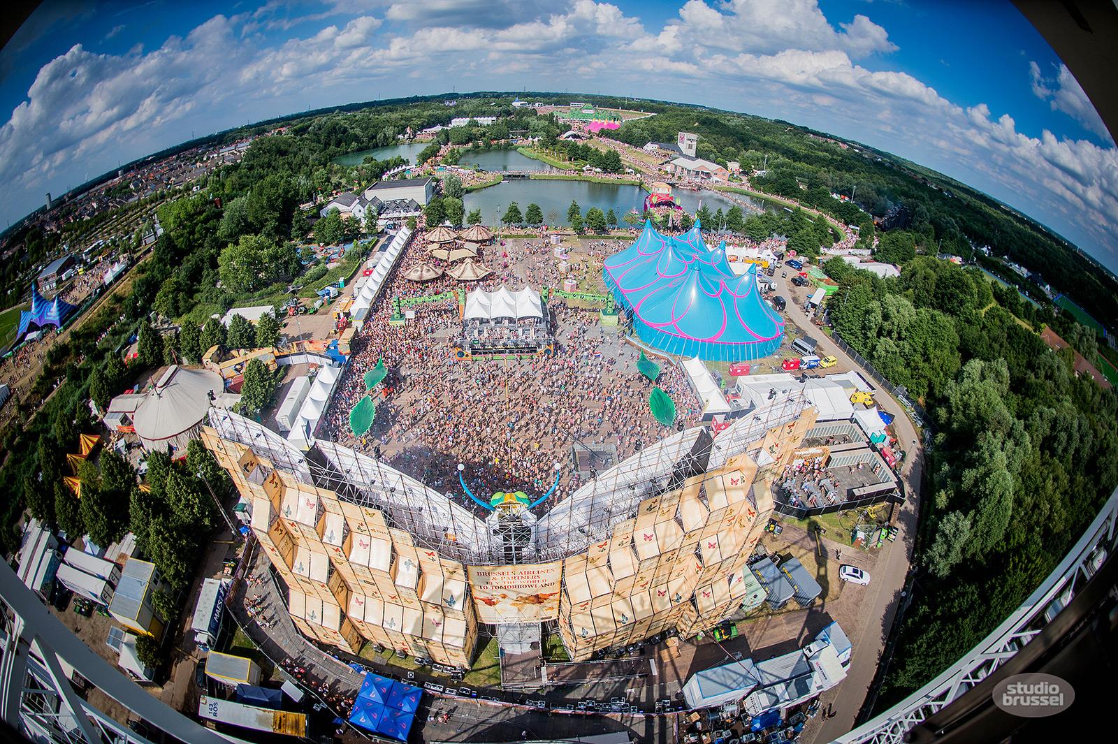 Reuzenrad The View verhuur voor (muziek)festivals